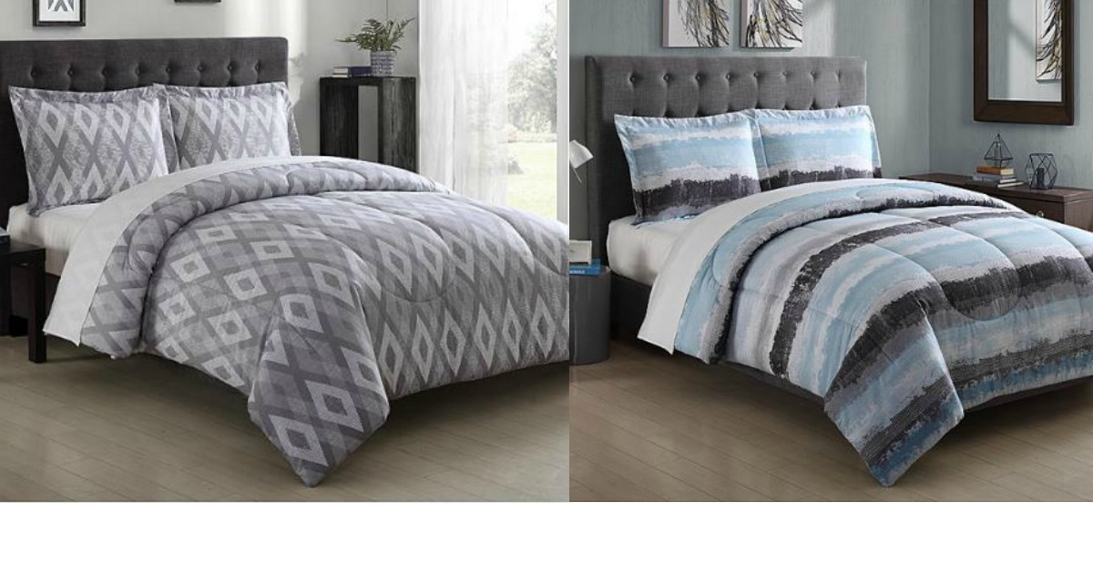 Good Head over to Kmart to pick up Essential Home MicroFiber Comforter sets for only u reg These es in Twin Full and Queen for this price