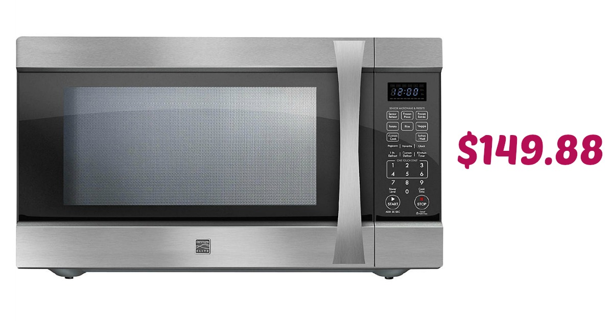 Hurry Over To Kmart And You Can Grab A Kenmore Elite Countertop Microwave For 149 88 With Free Shipping This Is Nice Deal If Have Been Needing New