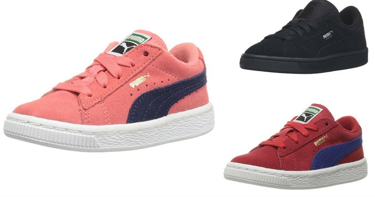 new products 7bf87 340ed Amazon: $11.40 PUMA Suede Classic Kids Sneakers! (Up to $45 ...