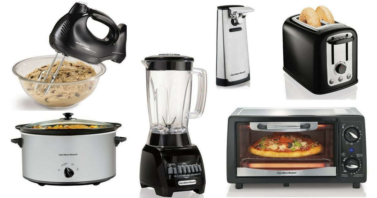 Kohl's: $1.03 Hamilton Beach Kitchen Appliances! ($25 Value)