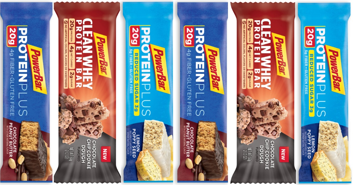 PowerBar Protein Bar Main & Social
