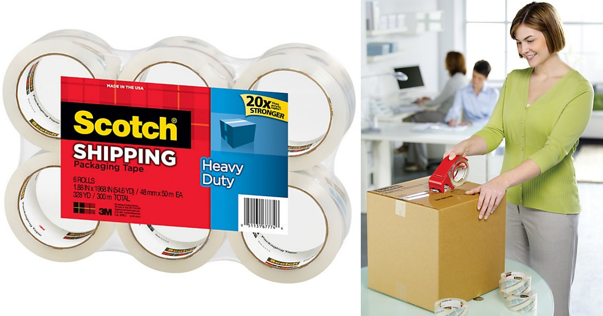 Scotch Shipping Tape Main & Social
