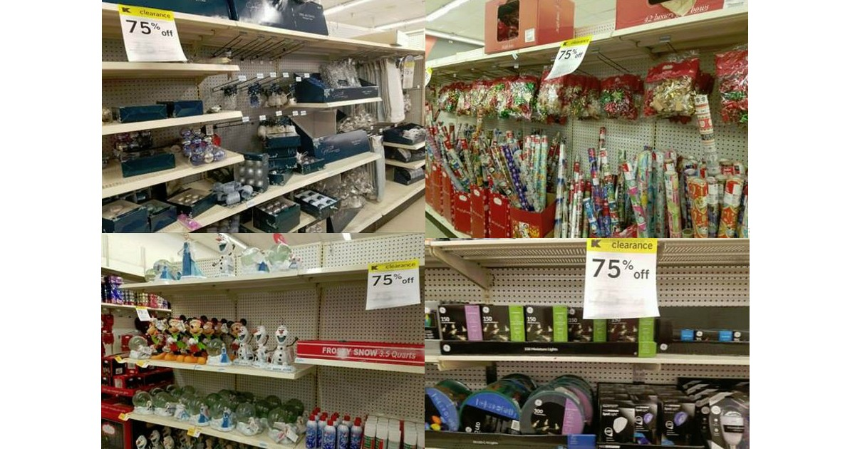 KMart: 75% off Holiday Decor, Lights & More Clearance!