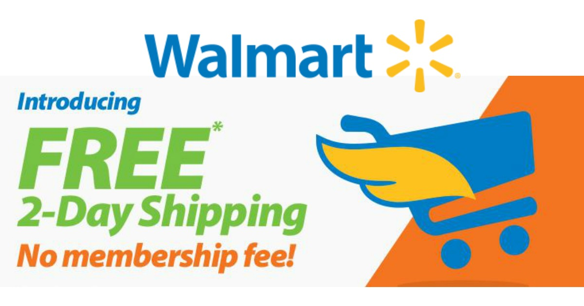 How much for free shipping walmart