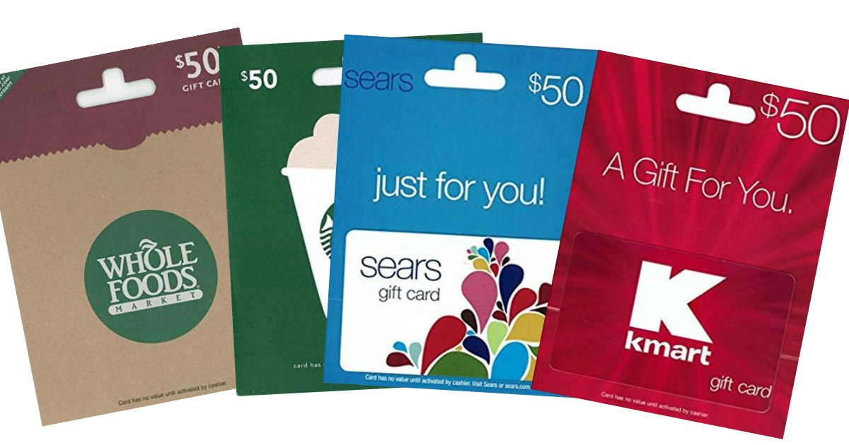 Hot 50 gift cards for 4137 starbucks kmartsears old navy more this does not work on amazon gift cards but it does work on other gift cards bookmarktalkfo Images