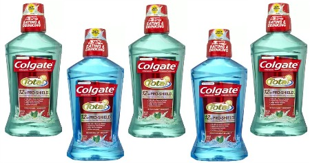 Colgate Mouthwash 5 Feature