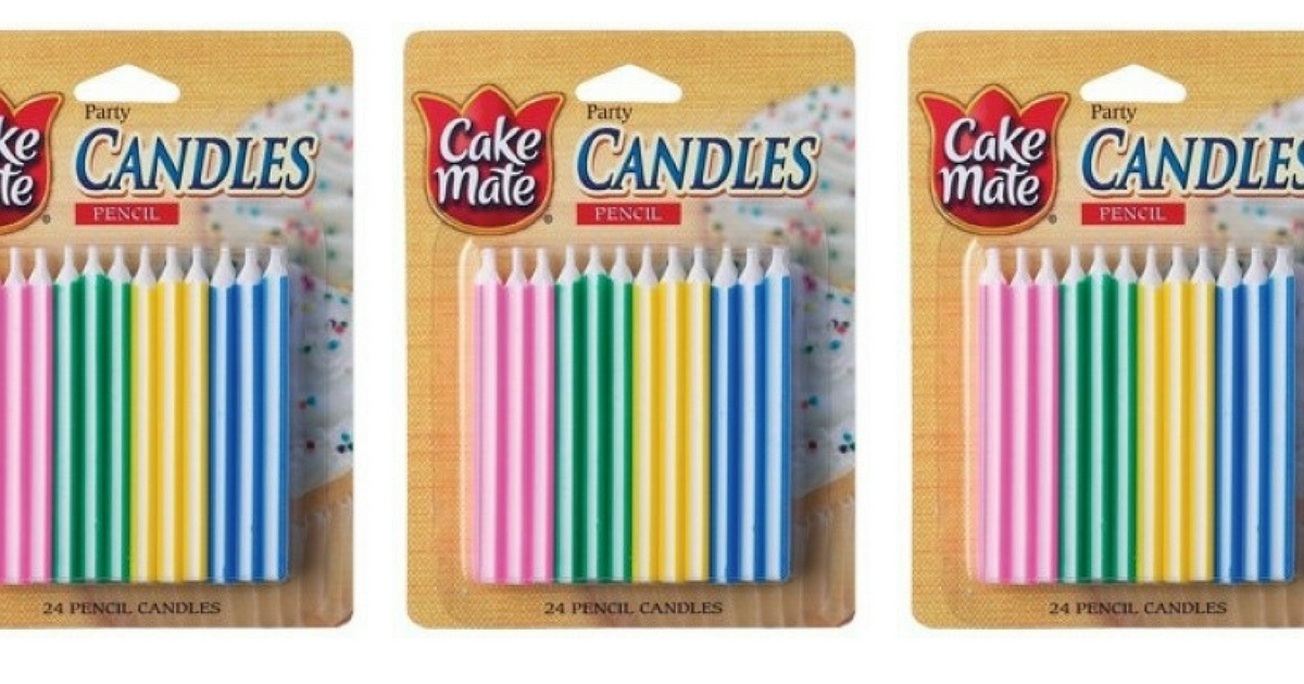 Cake Mate Pencil Candles!