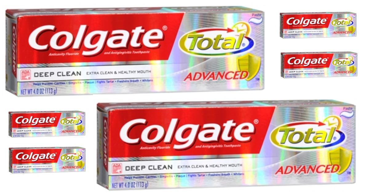 Colgate Total Toothpaste Main & Social Image