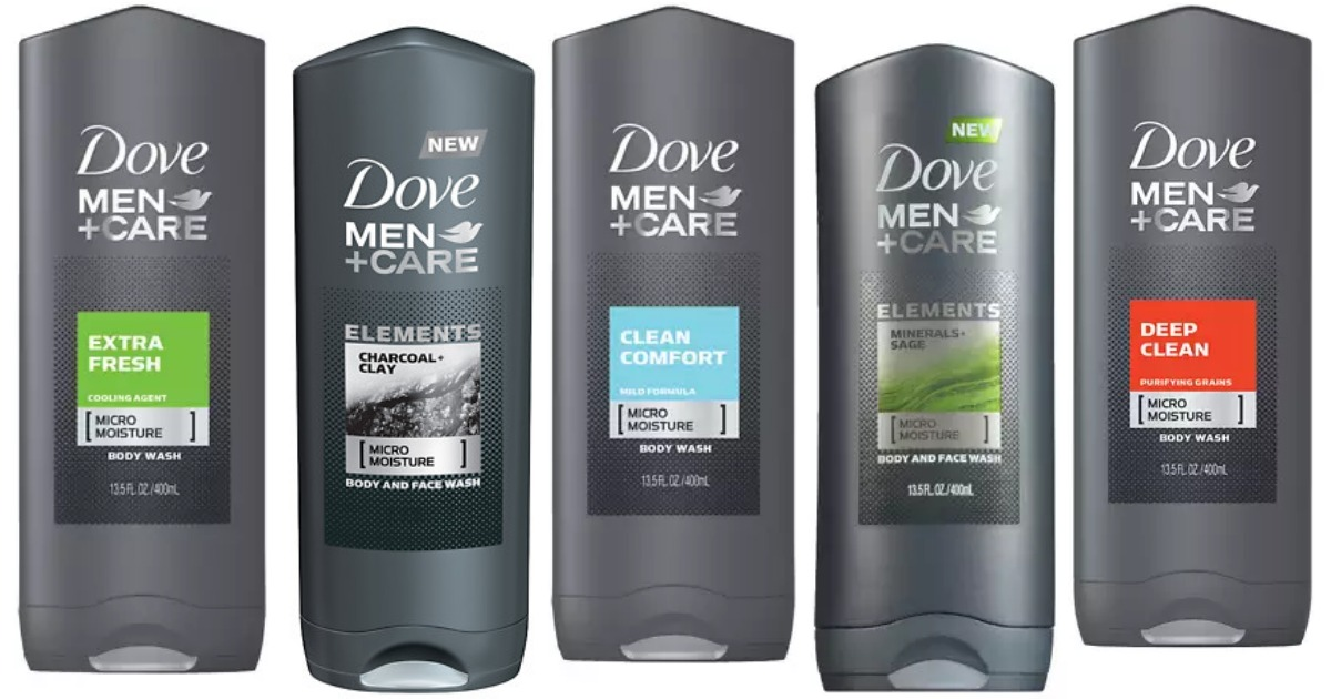 Walgreen's: $0.75 Dove Men+Care Body Wash! ($5.50 Value)
