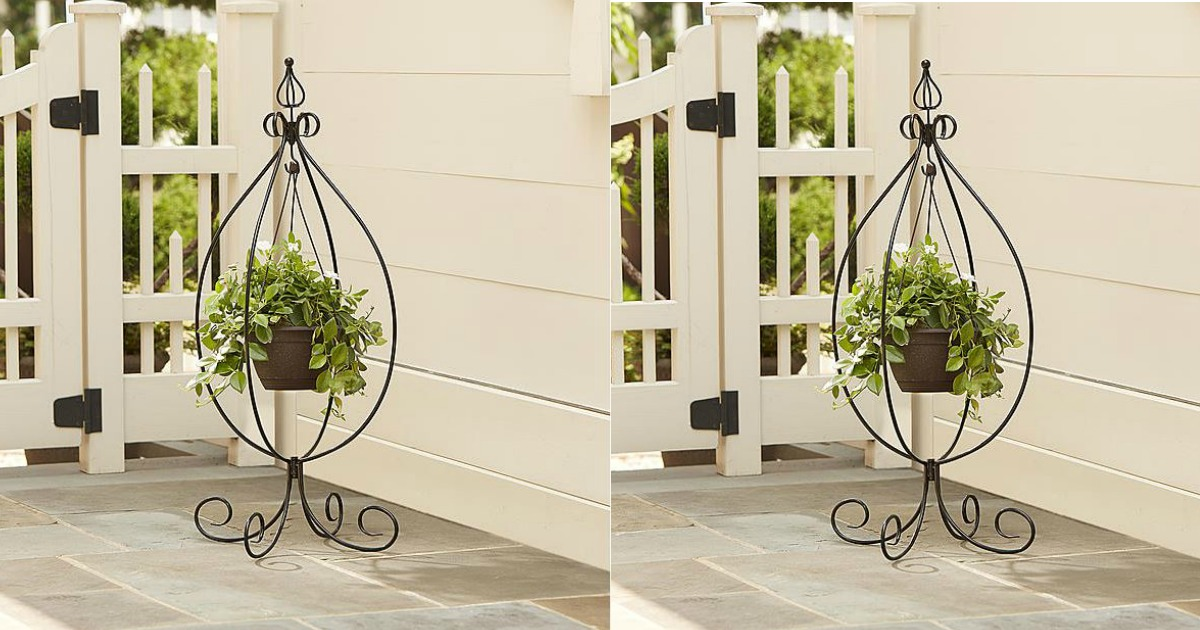 Kmart.com: $8.99 Garden Hanging Basket Plant Stand! ($20 ... on Stand For Hanging Plants  id=22834