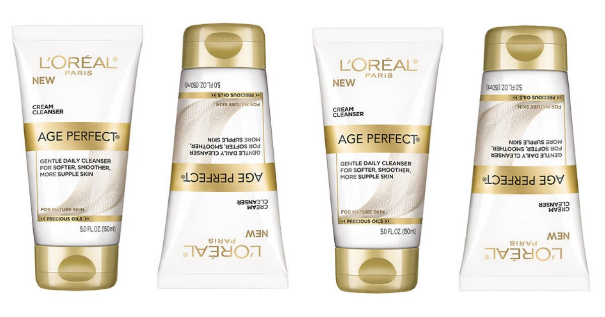 L'oreal Age Perfect Cleanser Main & Social