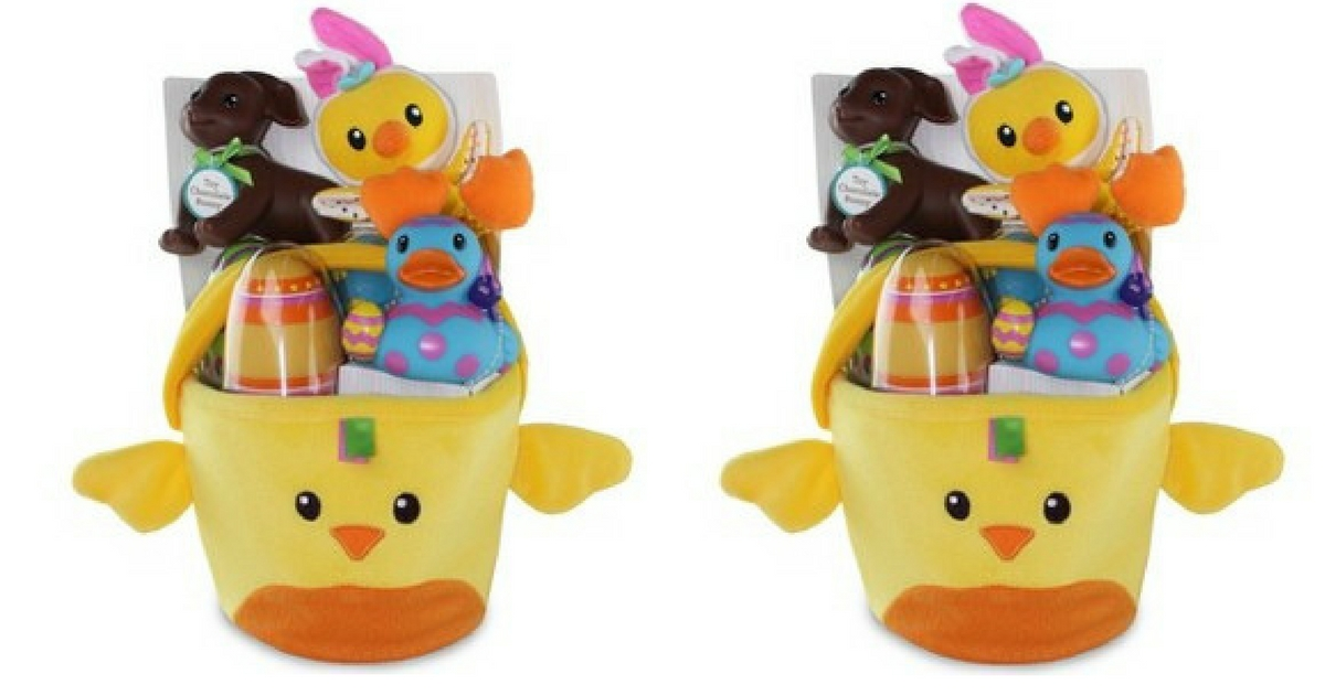 Target 9 Infantino Easter Basket Filled W Baby Toys 20 Value