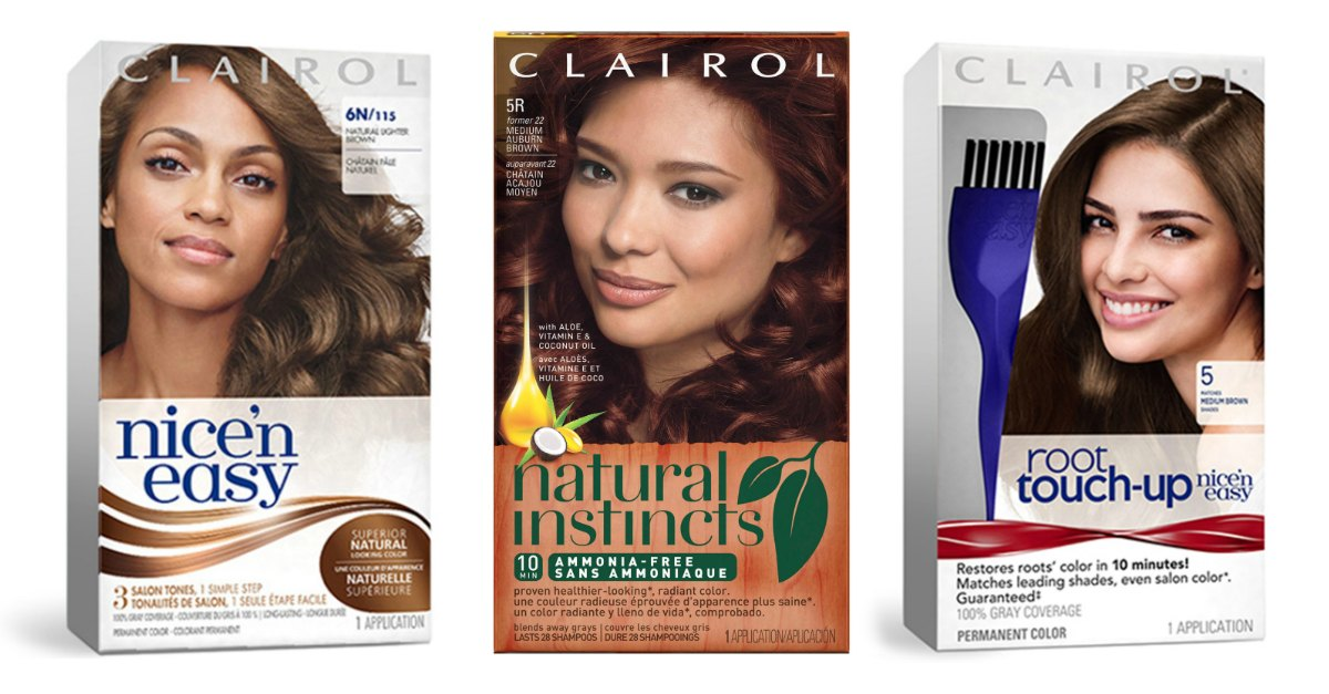 Target 062 Clairol Hair Color 7 Value