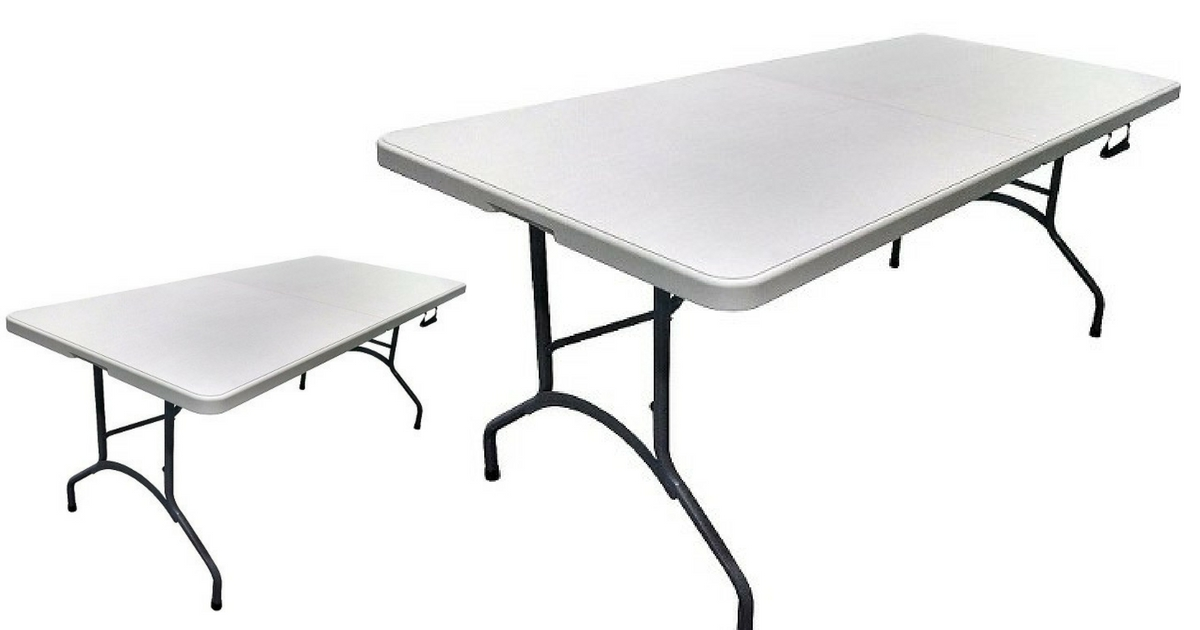 Target 27 6 foot folding banquet table 40 value for 10 foot banquet table