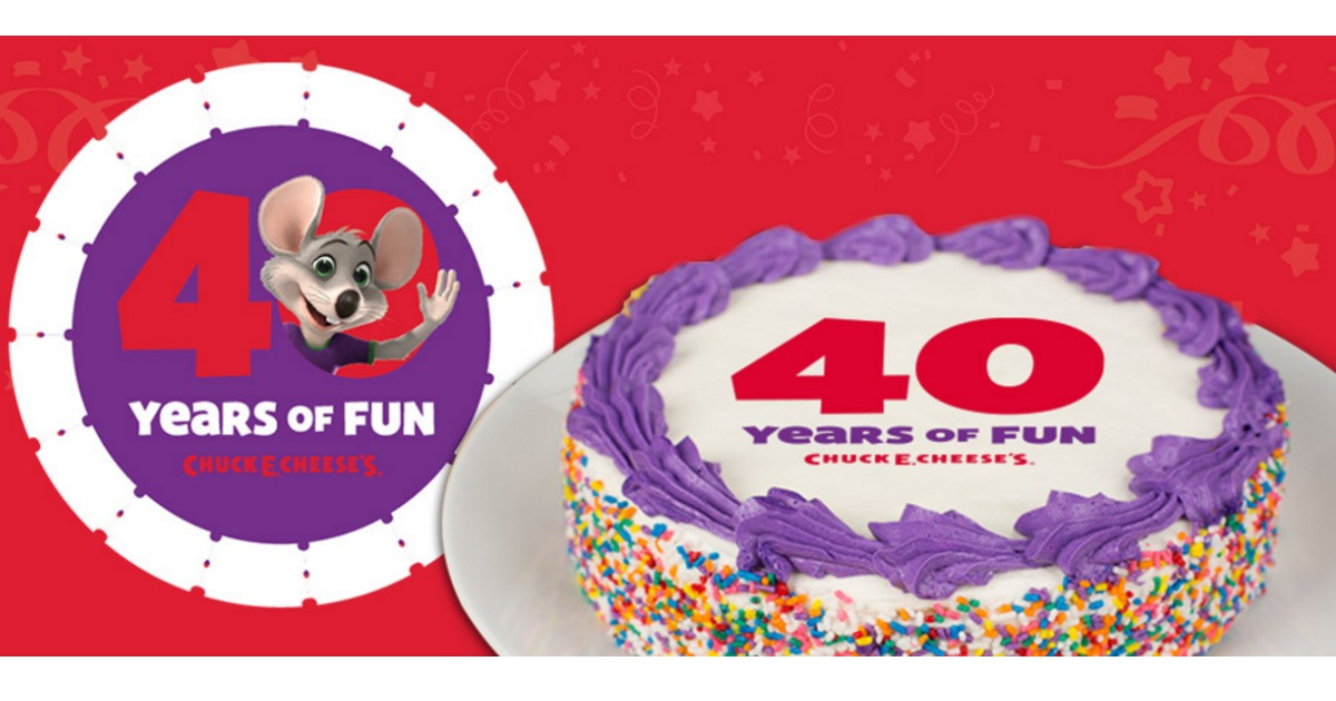 Chuck E Cheese's Birthday Main & Social