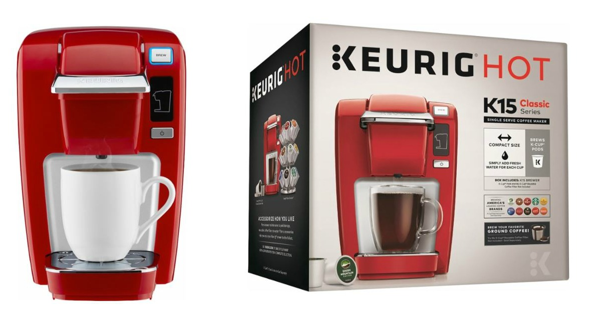 Best Buy: USD 39.99 Keurig K15 Coffee Maker! (USD 100 Value)