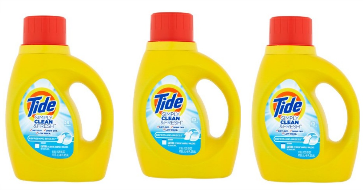 Tide simply clean fb