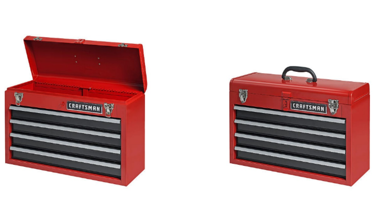 drawer drawers wheels tool box on