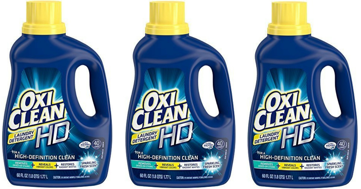 OxiClean HD Laundry Detergent