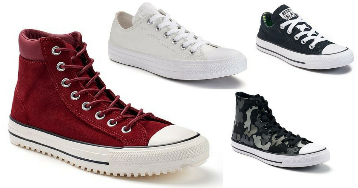547c3953a2b Head to Kohl s and score a nice selection of Converse shoes on clearance!  Keep in mind that the Converse brand is not eligible for discount coupon  codes but ...