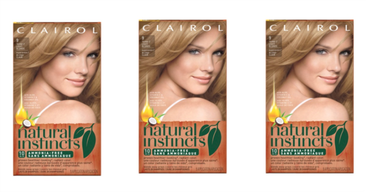 clairol natural instincts fb