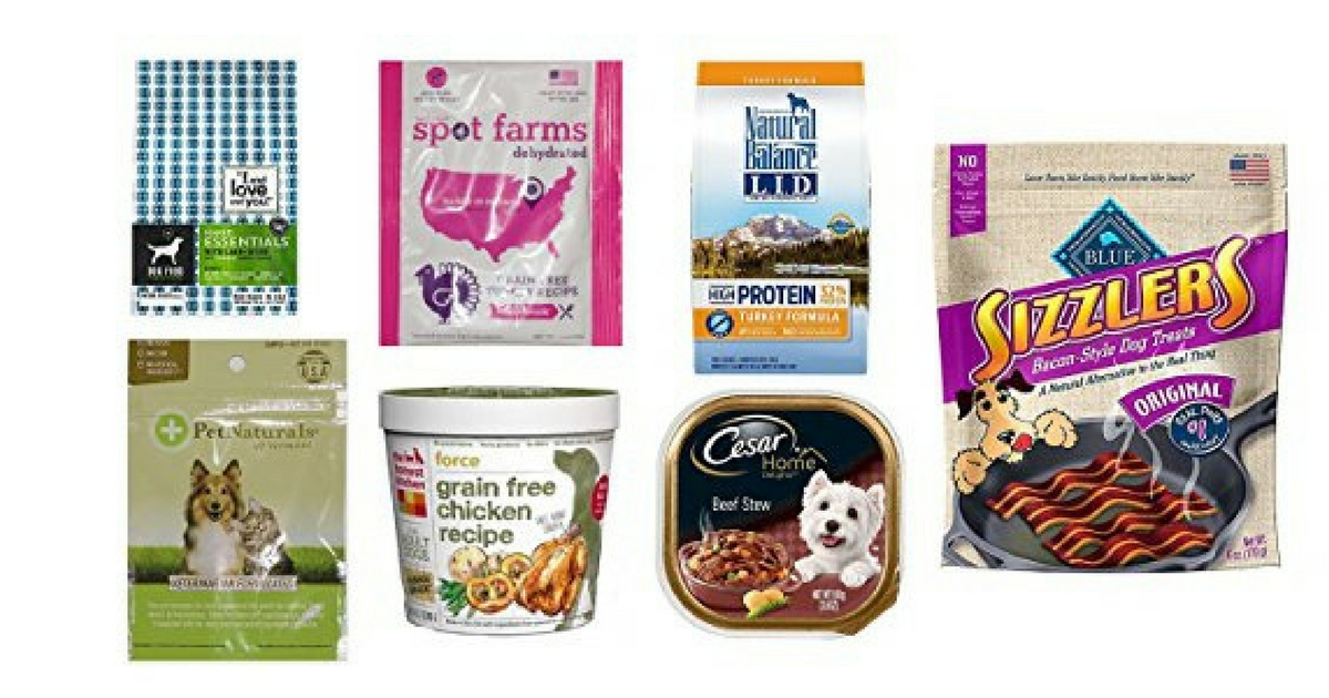 FREE Dog Food & Treats Sample Box