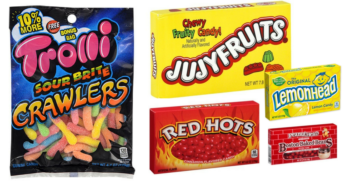 Starting 7 30 Head To Walgreens And Score FREE Trolli Jujyfruits Or Red Hots Boston Baked Beans Lemonheads Theater Box Candy 35 55