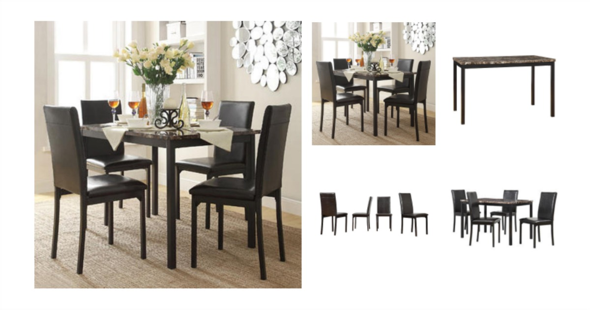 Gentil Oxford 5 Piece Dinning Set Fb
