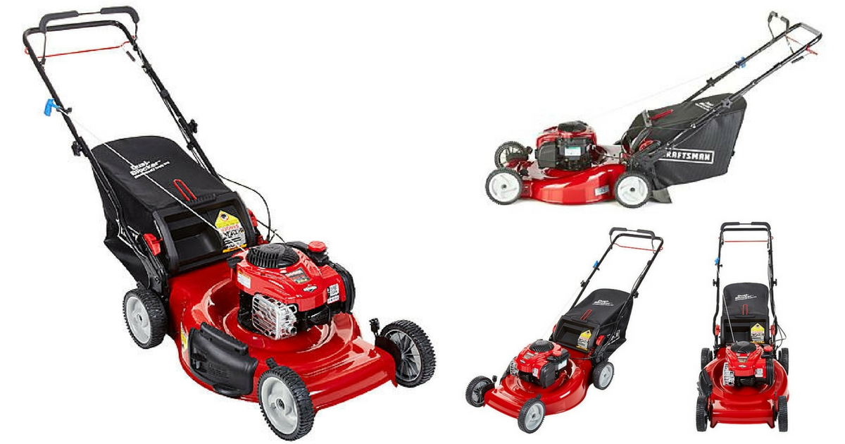 Craftsman 150cc 22inch Rear Wheel Drive Lawn Mower