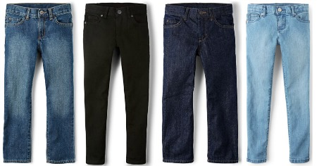 The Children's Place Basic Denim Jeans Feature