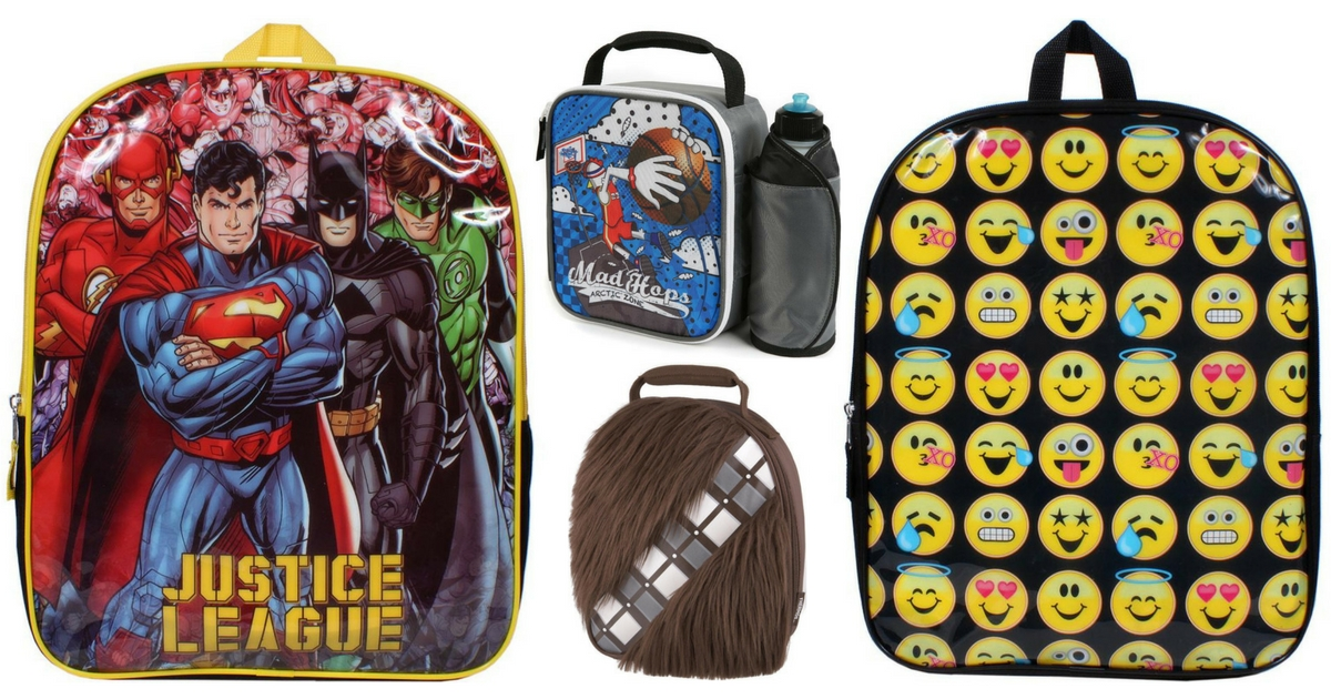 Toys R Us Backpacks + Lunchboxes (1)