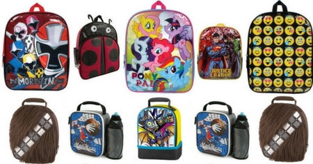 Toys R Us Backpacks + Lunchboxes (3)