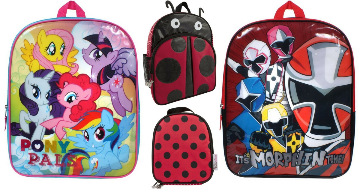Toys R Us Backpacks + Lunchboxes