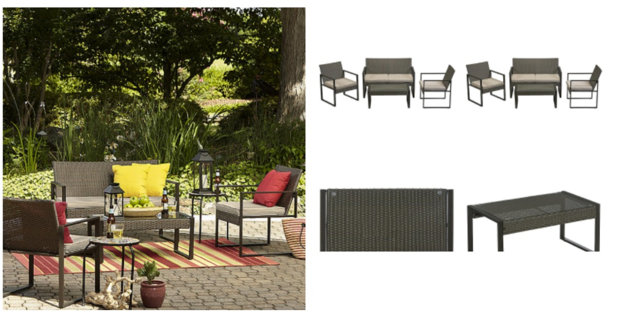 Beautiful Right now Kmart has patio furniture up to off you can score an additional off with the code SPU when you buy online and pickup in store