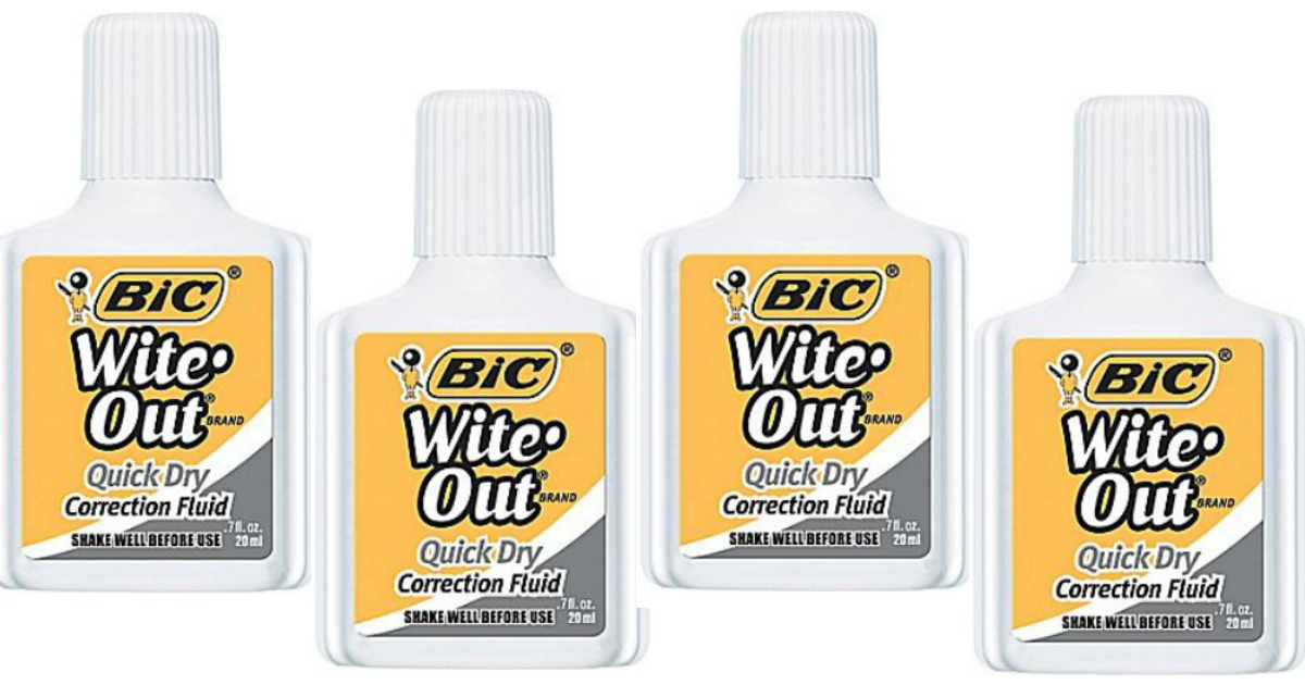 Bic Wite Out Main