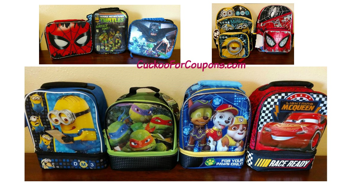 Lunch Bags & Backpacks Main