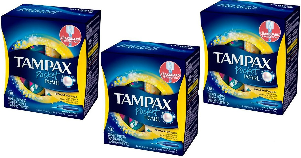 Tampax Pearls