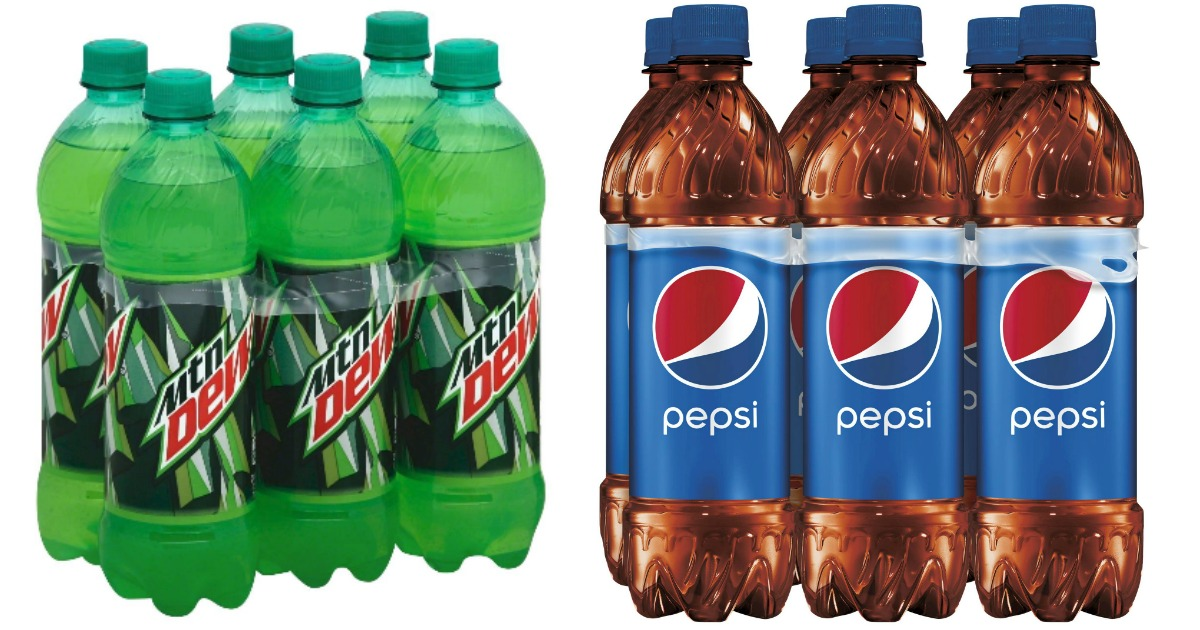 Pepsi & Mtn Dew 6 Packs Main