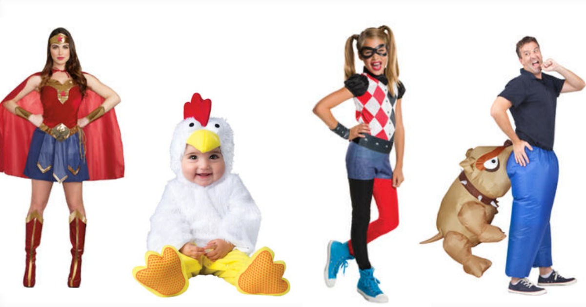 Kmart: Up to 50% OFF Halloween Costumes + Points Back!
