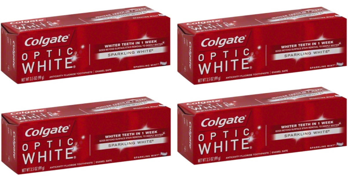 Colgate Optic White Main