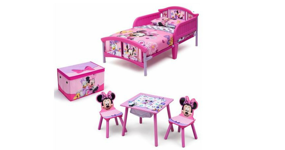 Cute The Set Includes Plastic Toddler Bed