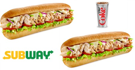 Subway BOGO FREE Sub wyb drink Feature