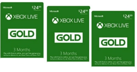 Xbox Live 3 months Featured