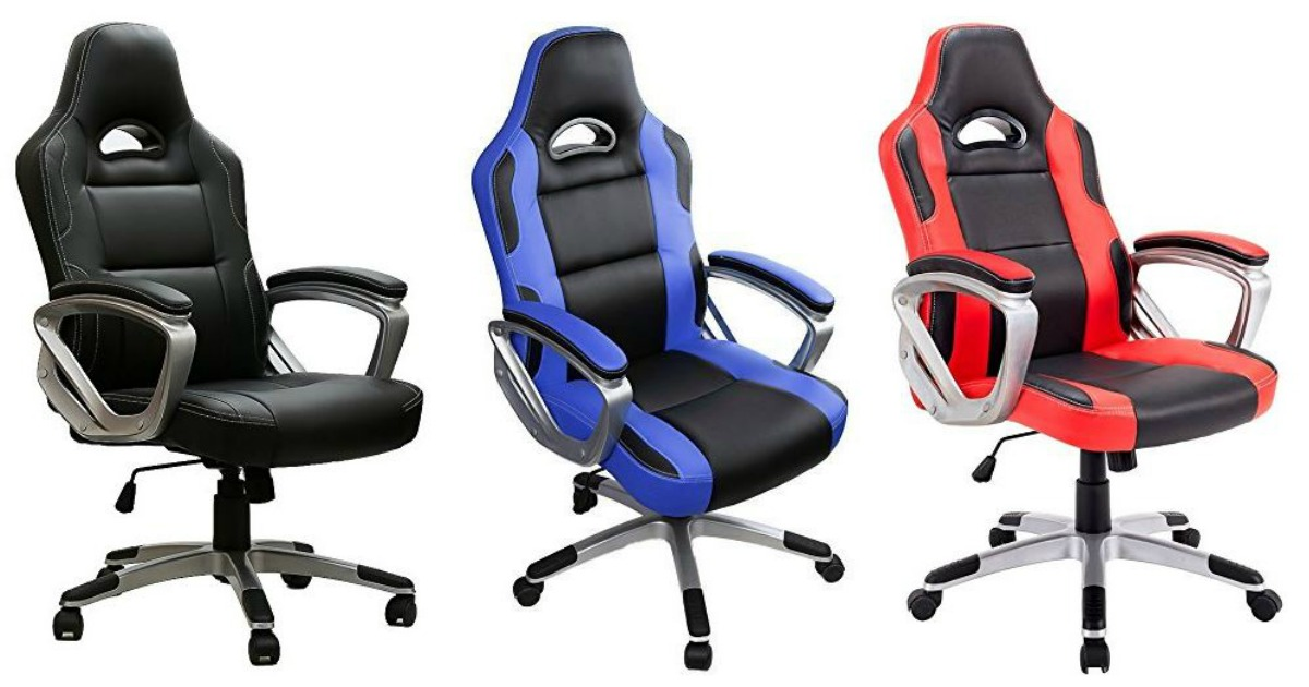 Marvelous Amazon 69 99 Racing Gaming Office Chair 140 Value Machost Co Dining Chair Design Ideas Machostcouk