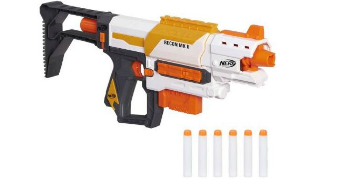 Walmart is really kicking their holidays sales in gear! Right now you can  pick up the Nerf N-Strike Mega Series RotoFury Blaster with bonus $10 gift  card ...