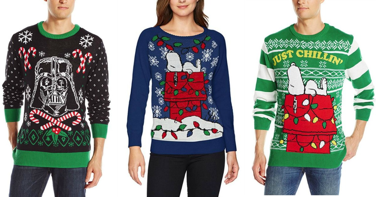 Amazon: 20.99 Darth Vader Ugly Christmas Sweaters + more! ($30 Value)