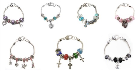 charm bracelets featured