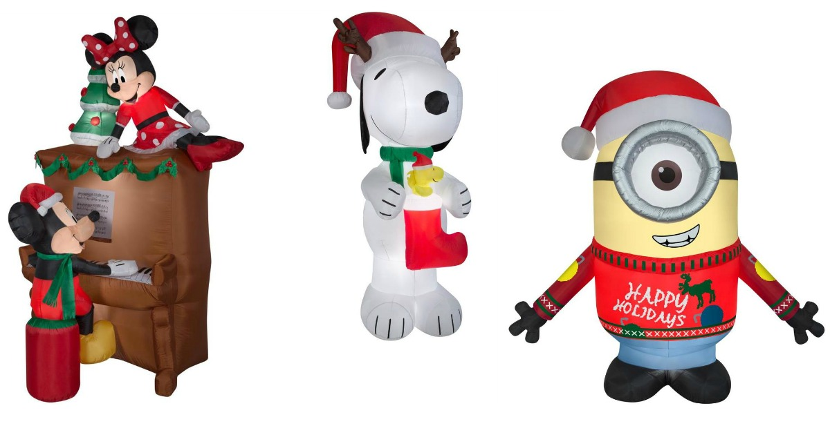 christmas inflatables fb - 75 Off Christmas Decorations