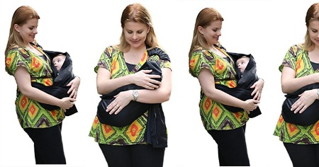 baby sling featured