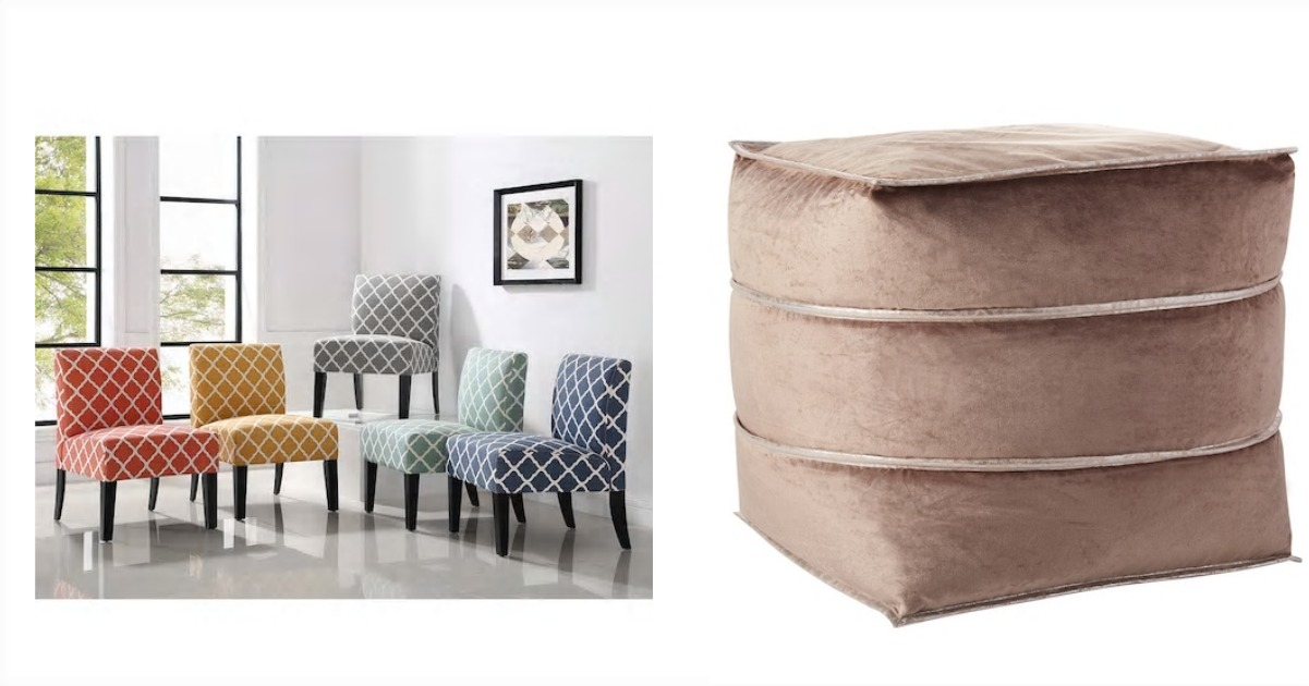jane chair & pouf fb